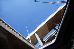 Sunroof and Overpass Stock Photos