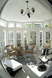 Sunroom - Floor to Ceiling windows Stock Photos