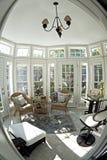 Sunroom - Floor to Ceiling windows Stock Photos