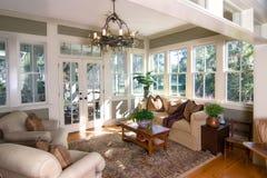 Sunroom meublé Image libre de droits