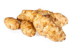 Sunroot tubers or Topinambur Royalty Free Stock Photo