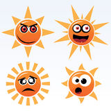 Suns Royalty Free Stock Photography