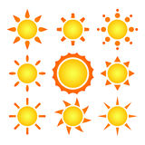 Suns Royalty Free Stock Photo