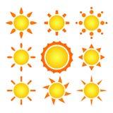 Suns Royalty Free Stock Photo