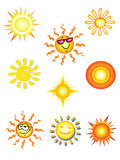 Suns. Royalty Free Stock Image