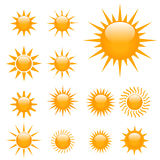 Suns Illustration Royalty Free Stock Images