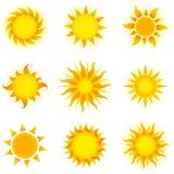Suns Royalty Free Stock Photos