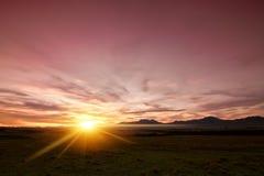 Sunscape Stock Photo