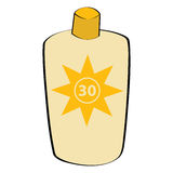 sunscreen λοσιόν Στοκ εικόνα με δικαίωμα ελεύθερης χρήσης