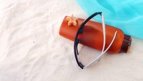 Sunscreen Arkivbild
