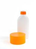 sunscreen 4 προϊόντων στοκ εικόνα
