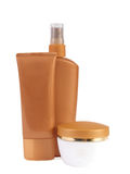 sunscreen 8 προϊόντων Στοκ εικόνες με δικαίωμα ελεύθερης χρήσης