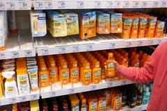 Sunscreen Stock Photos