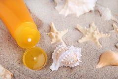 Sunscreen Royalty Free Stock Image