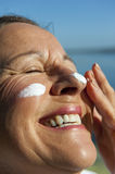 Sunscreen Skin Cancer Protection Royalty Free Stock Images