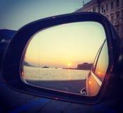 Sunseat su Trieste Fotografie Stock Libere da Diritti