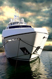 Sunseeker Yacht at DIBS Stock Images