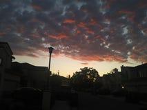 Sunsent Σεπτεμβρίου στοκ φωτογραφία με δικαίωμα ελεύθερης χρήσης