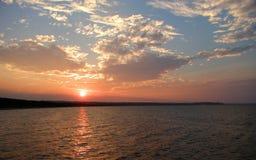 Sunset. Image captured in Gdansk, Poland stock image