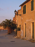 Sunset. View in adriatic old city Royalty Free Stock Photos