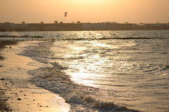 Sunset. In Hurgada. Red Sea Stock Image
