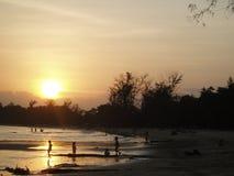 Sunset. Photo of sunset Stock Image