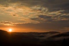 sunset Стоковое фото RF
