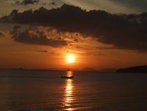 Sunset. At Krabi island (Thailand Stock Image