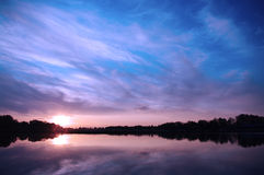 Sunset Royalty Free Stock Images