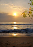 Sunset. A picture of beautiful sunset Stock Images