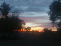Sunset1 免版税库存图片