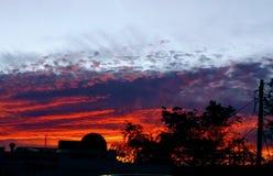 Sunset2 fotografía de archivo libre de regalías