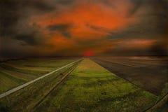 sunset στοκ εικόνα με δικαίωμα ελεύθερης χρήσης