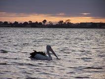 Sunset. On the york peninsular south australia stock photos