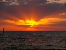 Sunset royalty free stock photography