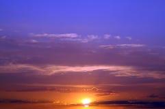 Sunset. Summer sky Royalty Free Stock Photos