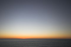 After the Sunset Royalty Free Stock Photography
