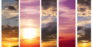 Sunset Royalty Free Stock Photo