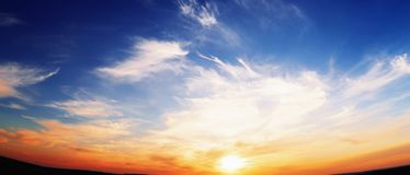Free Sunset Royalty Free Stock Image - 19249916