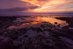 Sunset 2. Sunset in south Tenerife.Canary Islands Stock Photo