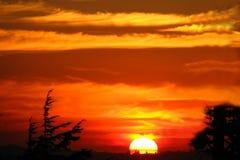 sunset 2 Royalty Free Stock Photos