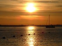 Sunset. At crescent beach, white rock, B.C Stock Photo