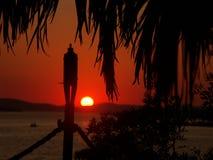 Sunset02 Royalty-vrije Stock Afbeelding