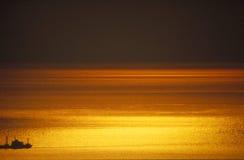Sunset. Beautiful sunset Stock Photos