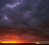 Sunset. Stock Photo