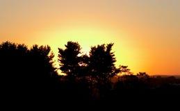 Sunset. Beautiful sunset royalty free stock images
