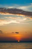 Sunset04 Fotografie Stock