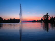 sunset Στοκ Εικόνα