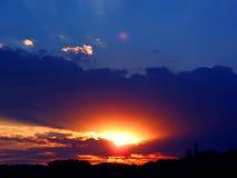 sunset./ Zdjęcie Royalty Free