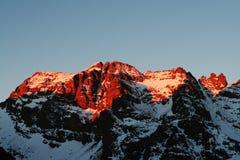 sunset./ Fotografia Stock